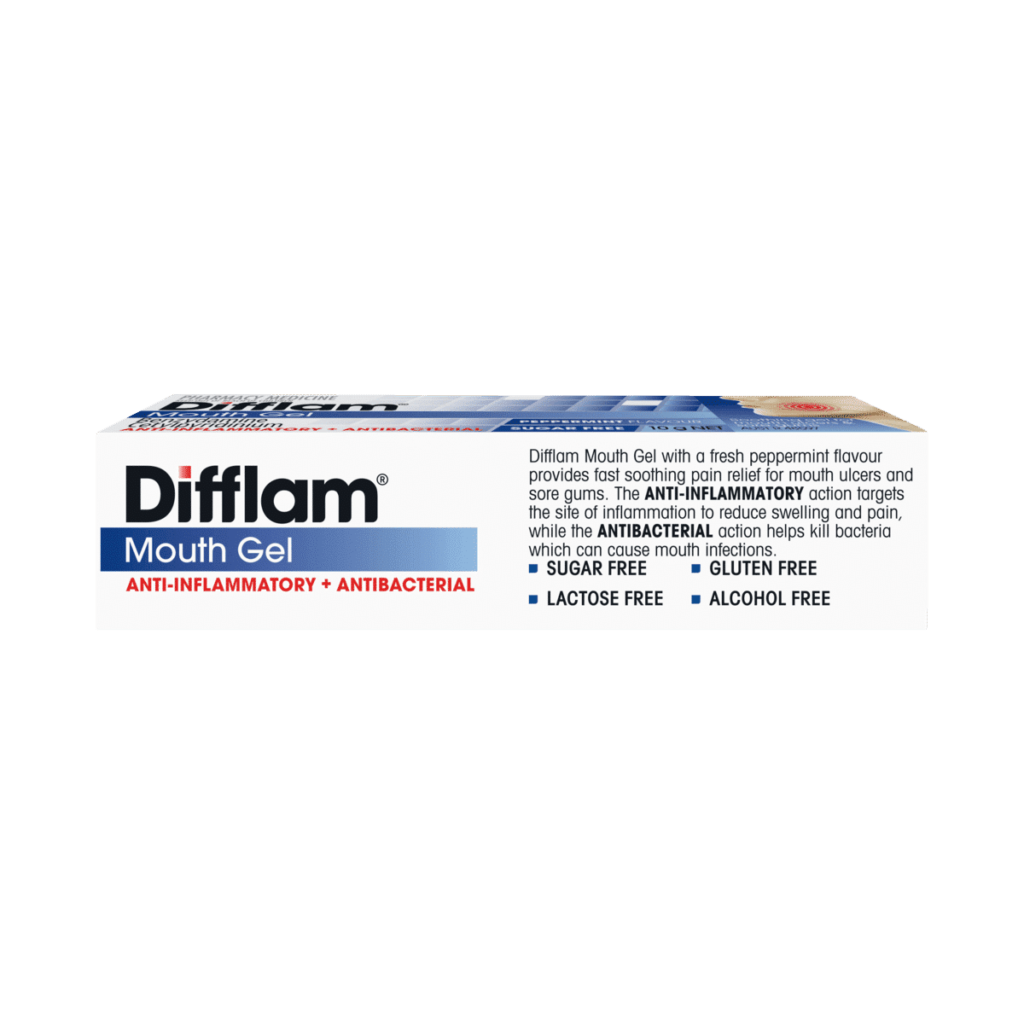 Difflam Mouth Gel Peppermint
